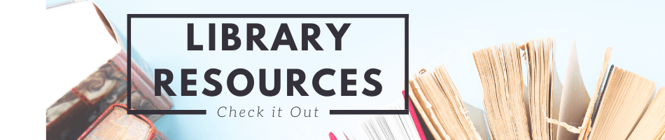 Library Resources Banner
