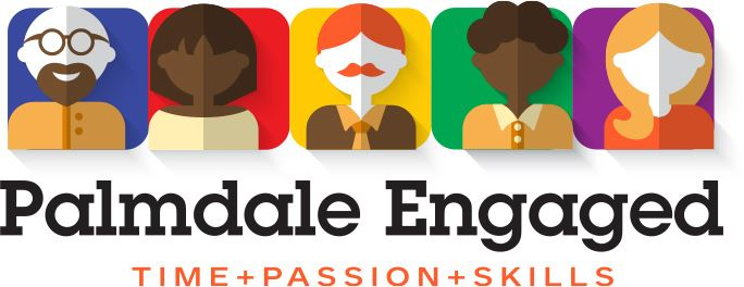 Palmdale Engaged Time, Passion, and Skills Logo