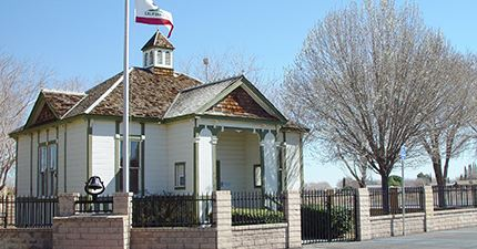 the original Palmdale Schoolhouse