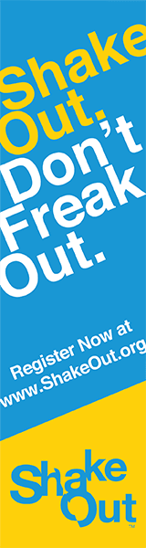 Shake out, dont freak out banner Opens in new window